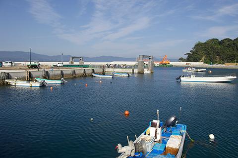 """""""世界三大漁場""""近く。豊かな海洋資源。"""