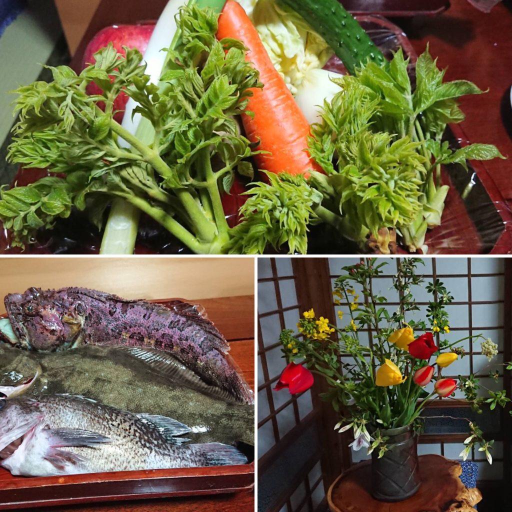 田代島の豊かな産物に感謝